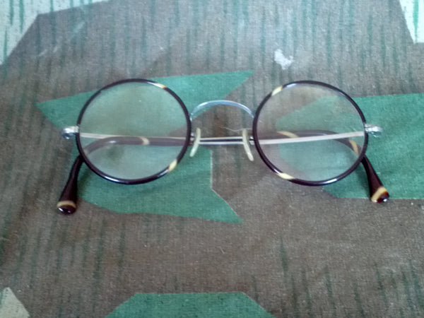Original WWII German Round Rim Glasses 1