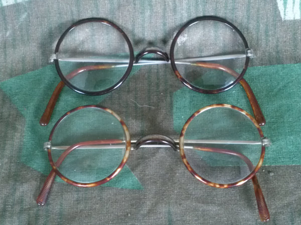 Original WWII German Round Rim Glasses 3