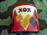 Original WWII German XOX Waffle Cookie Tin