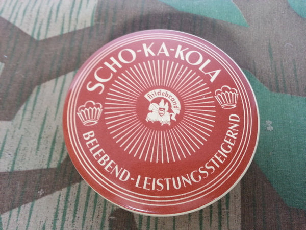 Pre-WWII 1930s German Scho-ka-kola Chocolate Tins