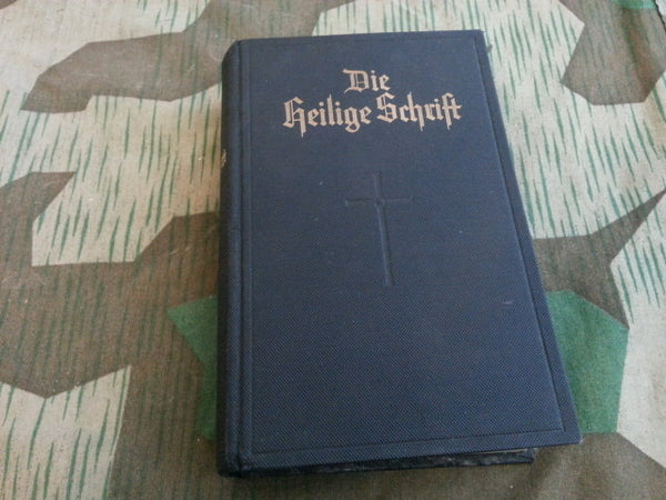 Pre-WWII German Die Heilige Schrift Evangelical Bible 1933