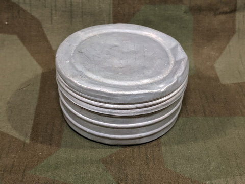 Small Round Aluminum Container