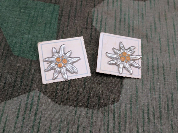 Edelweiss Pins on Card