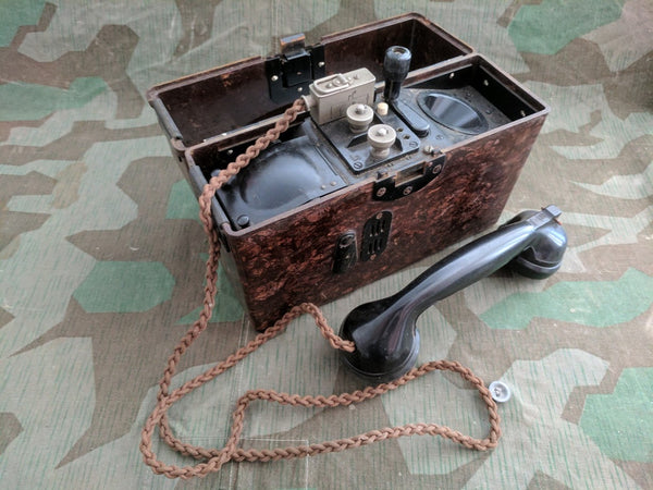 1940 FF33 Field Phone Working!