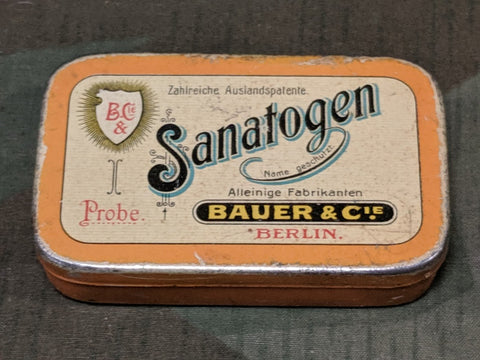 Sanatogen Food Tonic Tin