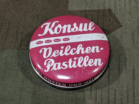 Konsul Veilchen-Pastillen Cough Drop Tin