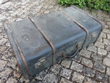 Vintage 1930s / 1940s WWII German D.R.G.M. Large Suitcase