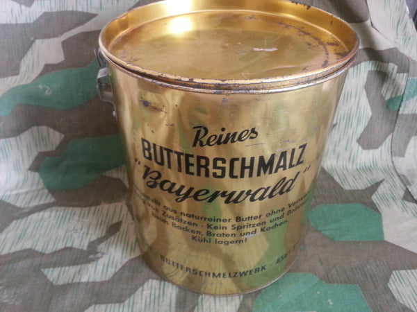 Vintage German Butterschmalz Bucket