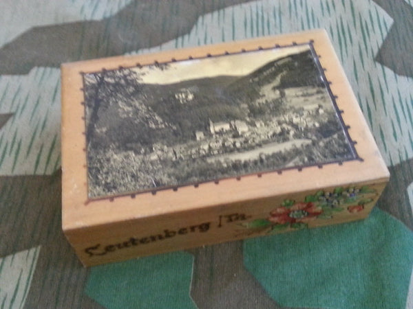 Vintage German Leutenberg Wooden Box