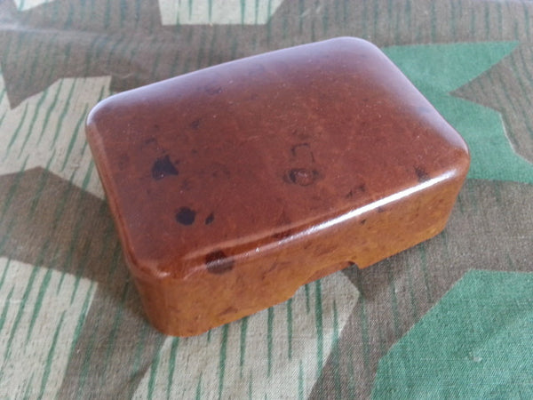 Bakelite Soap Dish Brown