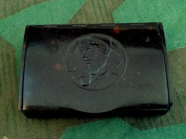 WWII-era German Bakelite TRUMPF Pipe Tobacco Container