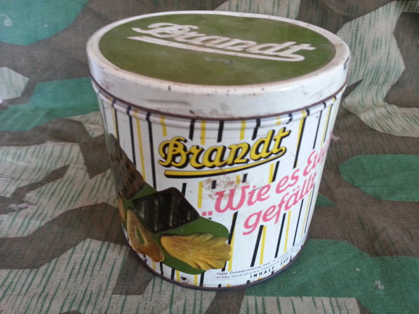 WWII-era German Brandt Cookie Tin