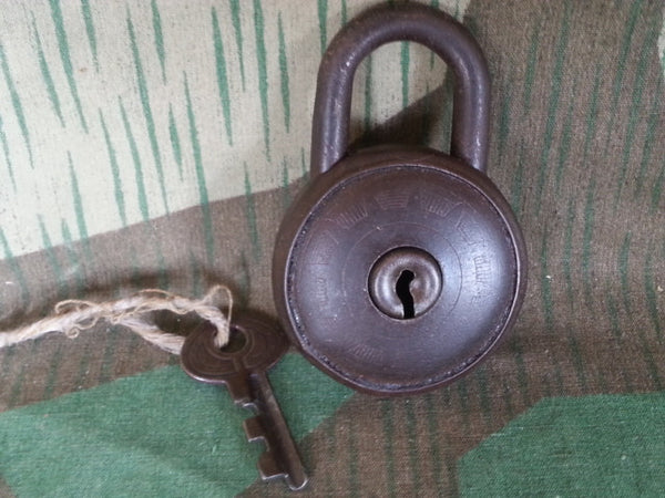 WWII-era German Circular Lock