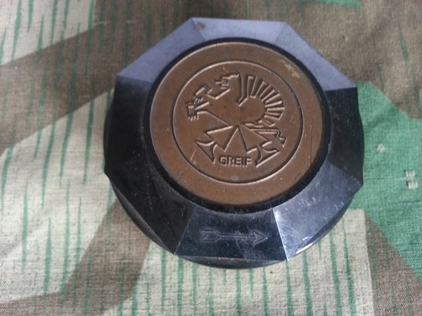 WWII-era German Greif Bakelite Typewriter Ribbon Container