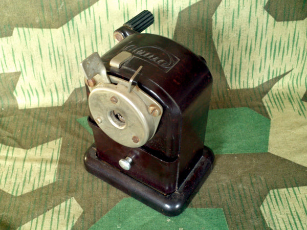 WWII-era German Hema Desk Top Pencil Sharpener