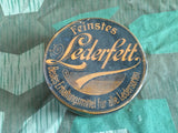 WWII-era German Lederfett Tin