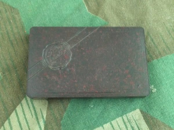 WWII-era German Small Bakelite Famos Stamp Pad