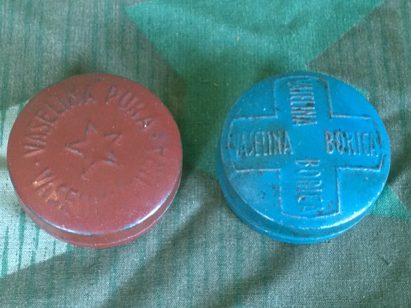 WWII-era German Small Vaseline Containers