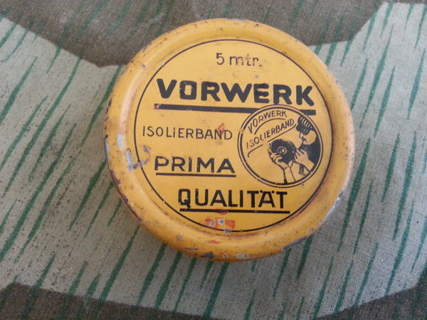 WWII-era German Vorwerk 5 Meter Tape Tin