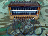 WWII German 10 Line Switchboard Klappenschrank 1939