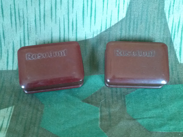 WWII German Bakelite Rosodont Tooth Soap Container