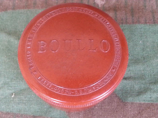 WWII German DRGM Boullo Bakelite Container