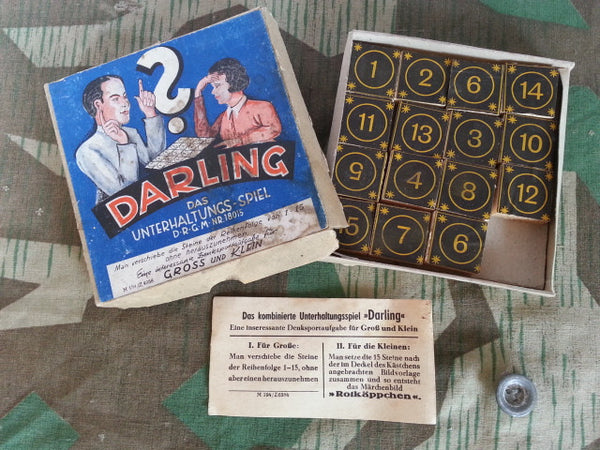 WWII German DRGM Puzzle Game