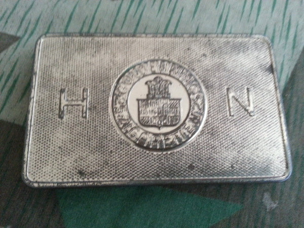 WWII German Gold HN Cigarette Tin Tropen-Packung