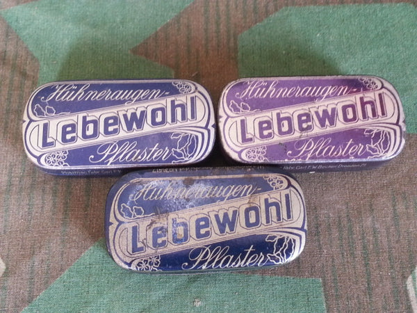 WWII German Lebewohl Bandage Tin