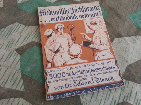 WWII German Medical Dictionary 1941