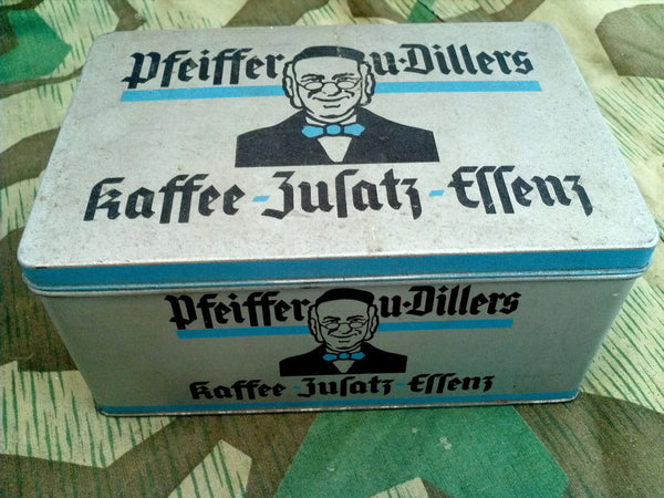 WWII German Pfeiffer u. Diller Coffee Container