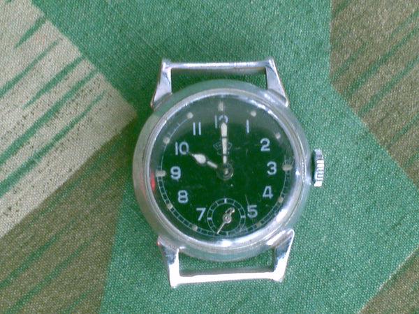 WWII German Thiel Mens Wristwatch WORKING