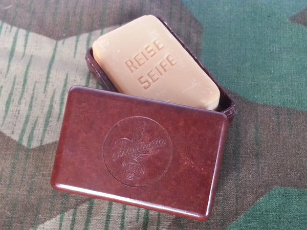 WWII German Thuringia Bakelite Travel Soap Container