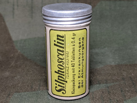 Silphoscalin Pill Tin