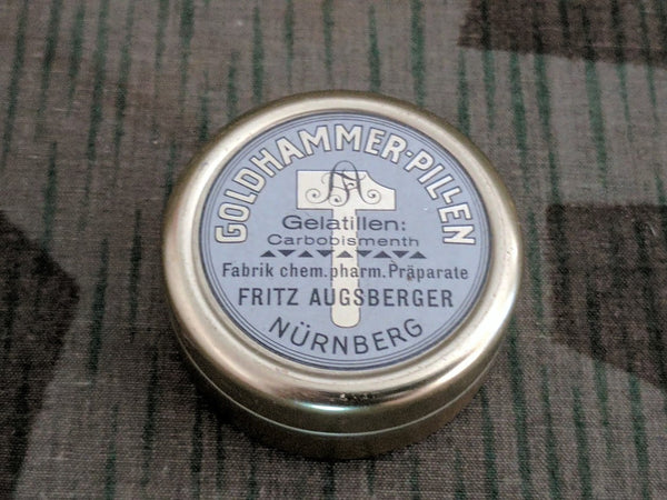 Goldhammer Pillen Carbobismenth Supplement Tin