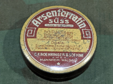 Arsenferratin Medicine Tin