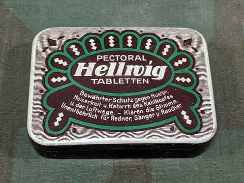 Pectoral Tabletten Tin
