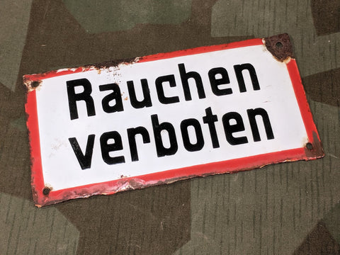 Rauchen Verboten Sign (as-is)