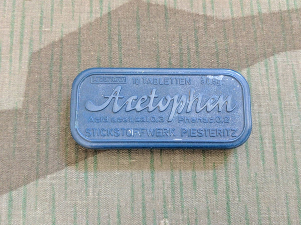Bakelite Acetophen Pain Reliever Pill Container