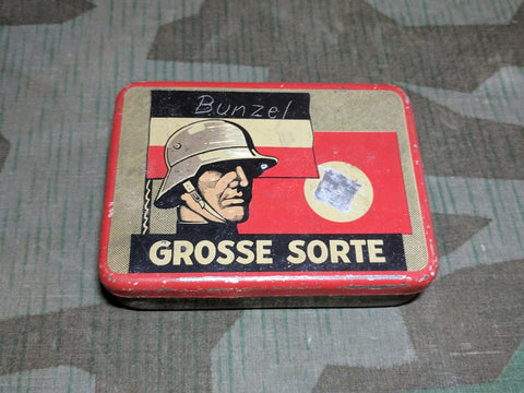 Grosse Sorte Tobacco Tin with Soldier