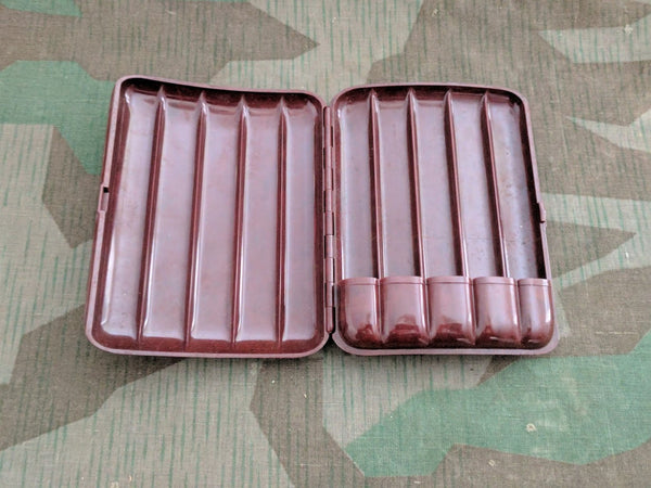 Bakelite Cigar Case FAHR for 5 Cigars (AS-IS)