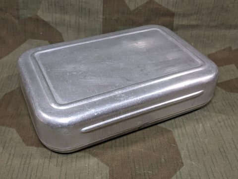 Rectangular Aluminum Bread Container