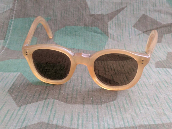 Period Heavy Lucite Sunglasses