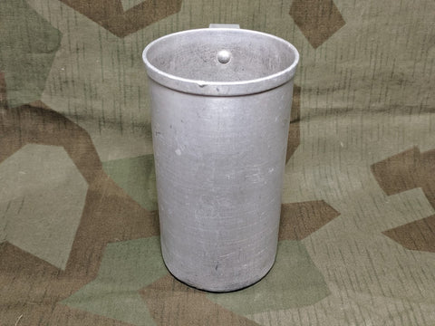 Aluminum Cup 1/2 Liter Unmarked