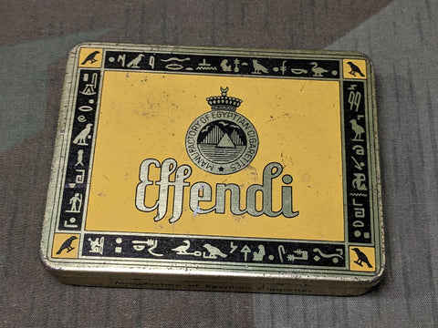 Effendi Cigarette Tin