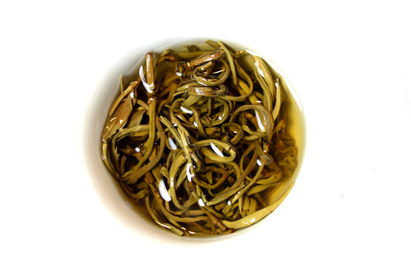 Jasmine Pearl, Loose Leaf Green Tea with Bamboo Infuser