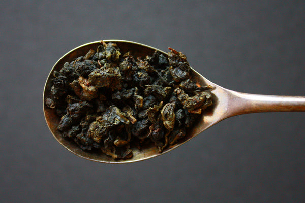Tie Kuan Yin, Loose Leaf Oolong Tea with Bamboo Infuser