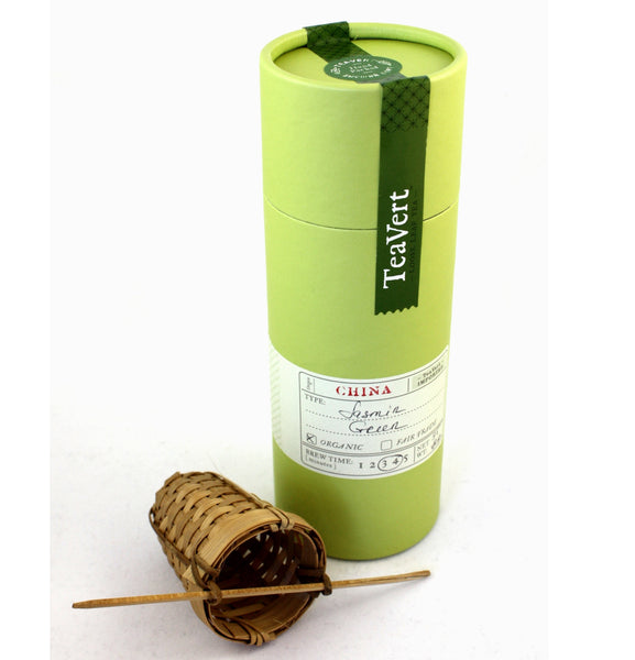 Organic Jasmine Green tea with Bamboo Infuser