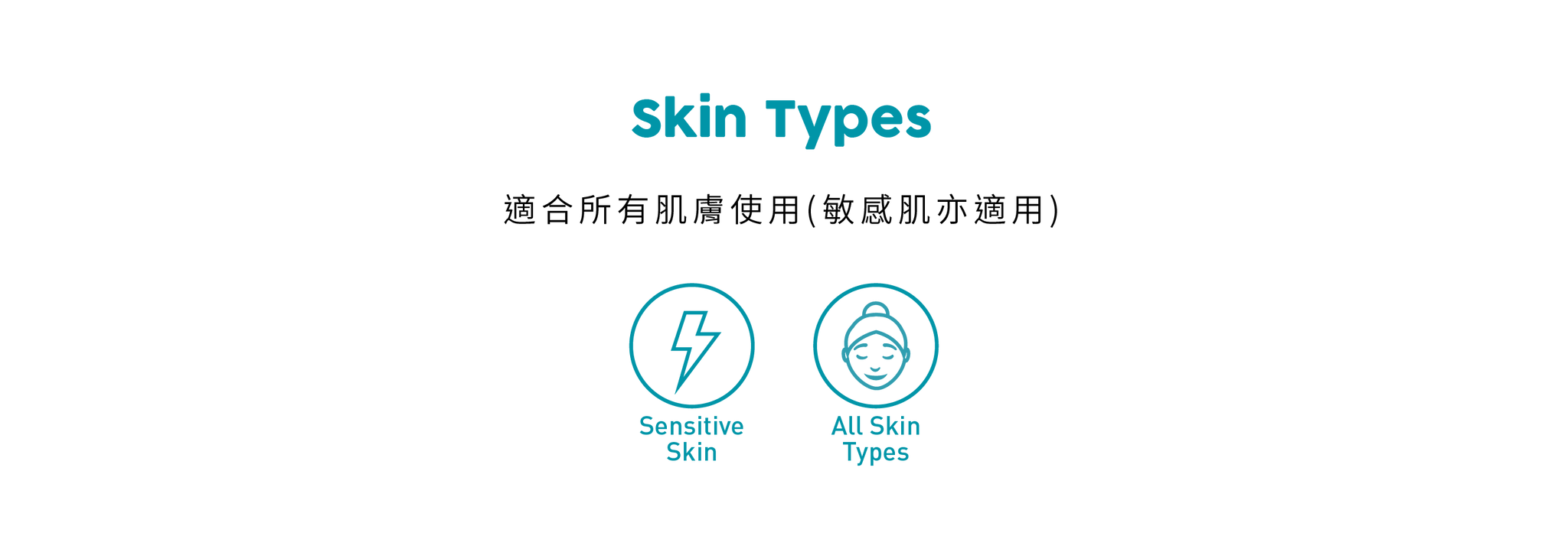 SOS Collection Skin Types
