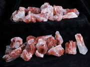 Natural Red Calcite Crystals From Mexico Inlay Healing Chakra By The Pound - Fossil Age Minerals